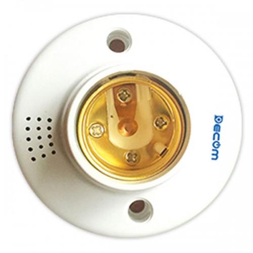Đui đèn cảm ứng âm thanh E27